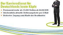 Auch im Marktplatz von n-tv.de gibt es einen diskreten Zugang zum Markt der Headhunter
