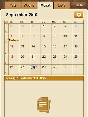 Der Kalender ist auch gut gelungen.