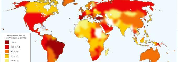 """In Europa ist vor allem Spanien eine """"Virenschleuder""""."""