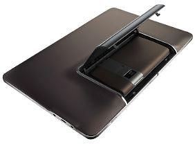 Das Tablet nutzt auch die Kamera des Telefons.