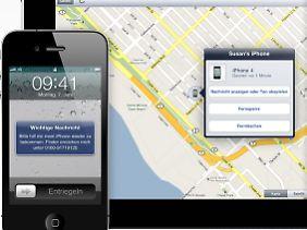 Ein freundlicher Appell bringt das iPhone kaum zurück.