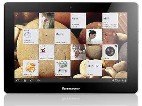 Lenovos IdeaPad S2 kann an eine Tastatur andocken.