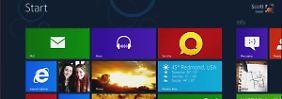 Im Handel gibt es nur zwei: Windows 8 in vier Versionen