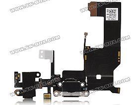 Das soll die Platine des iPhone 5 mit Kopfhörerbuchse, Lautsprecher und WLAN-Antenne sein.
