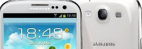 Das Samsung Galaxy S3 ist ein eleganter Kraftprotz.