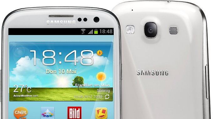 Das Samsung Galaxy S3 schmeckt Apple überhaupt nicht.
