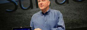 Microsoft-Chef Steve Ballmer riskiert mit dem Surface, seine Hardware-Partner zu verprellen.