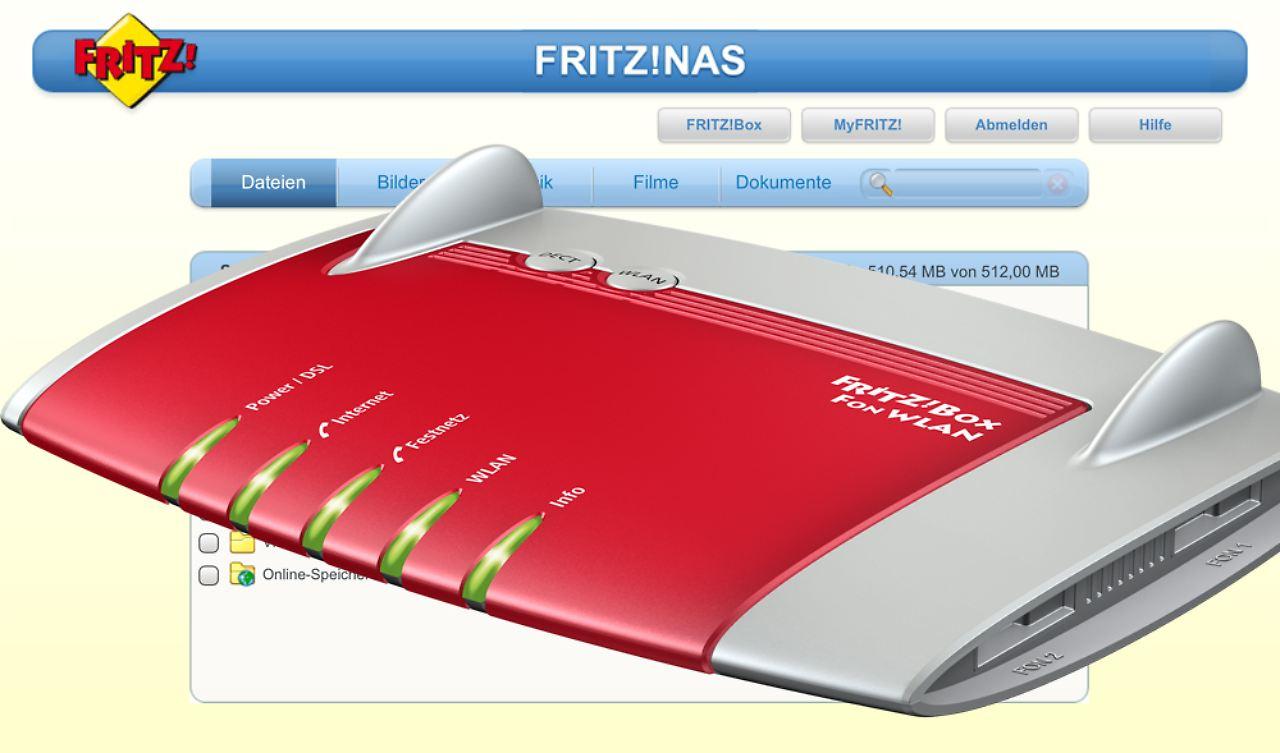 NAS macht\'s möglich: Fritzbox speichert grenzenlos - n-tv.de