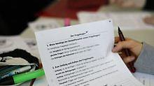 Bei dem Schulprojekt werden die Schüler sprachwissenschaftliche Untersuchungen anstellen.